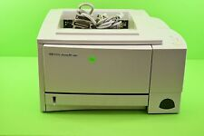 HP LaserJet 2100 C4170A Laser Printer Page Count 36096 with cables cord  1