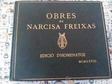 OBRES DE NARCISA FREIXAS, EDICI� D'HOMENATGE