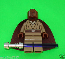 LEGO STAR WARS FIGUREN ### MACE WINDU - MIT CAPE JEDI AUS SET 9526 ### =TOP!!!