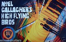 NOEL GALLAGHER'S HIGH FLYING BIRDS U.S. PROMO POSTER PRINTED FOR SAN DIEGO-KPRI