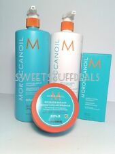 Moroccanoil Repair Shampoo and Conditioner 33.8oz /1L Combo Set