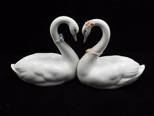 Lladro Figurine #6585 Endless Love, Two Swans, with box