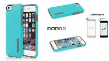 "NEW INCIPIO DUALPRO Blue HARD SHELL CASE COVER FOR 4.7"" IPHONE 6 IPH-1179-BLUGRY"