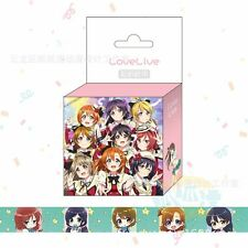 love live school idol project Scrapbook Stickers Anime Paper Maksing Washi Tape