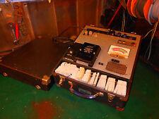 Hickok 123A Cardmatic Tube Tester w Audio Cards 500 Cards  Calibration Card set