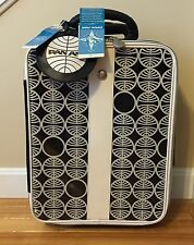 PAN AM American Airlines Travel Cabin Vintage Style Luggage Rolling Suitcase
