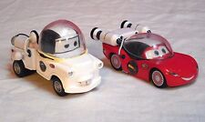 Disney Pixar Cars Take Flight Nasca Autonaut Mater & Autonaut McQueen Die Cast