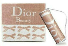 100% AUTHENTIC HUGE Exclusive LUXURY DIOR BEAUTY~BATH~GYM~BEACH TOWEL&CASE £225