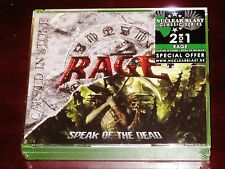 Rage: Carved In Stone + Speak Of The Dead 2 CD Box Set 2016 Nuclear Blast NEW