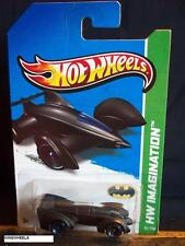 HOT WHEELS 2013 #65 -4 BATMAN LIVE BATMOBILE BLAK INTL 14 CA BAT RITE SIDE