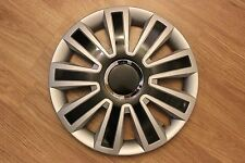 "14"" INCH WHEEL TRIMS NEW FIESTA 2002-2009,FOCUS 1998-2004 SILVER/BLACK"
