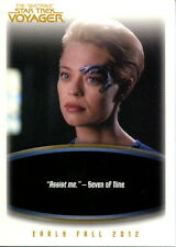 STAR TREK VOYAGER THE QUOTABLE 2012 RITTENHOUSE ARCHIVES PROMO CARD P4