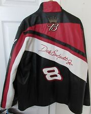 NASCAR Dale Earnhardt Jr. Bud #8 Black Leather Jacket by Chase & Wilsons XL