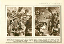 1915 River Dunajec Galicia German Trench War Train Chimbeque Belgian Officer Fla