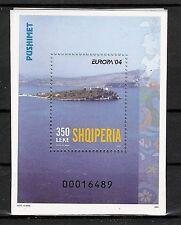 CEPT, Albanien, Europa 2004 Ferien Bl 150 postfrisch, KW 9.-€