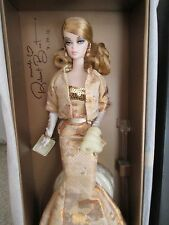 2009 Natl. Barbie Convention Golden Gala Silkstone Barbie -NRFB-- SIGNED by BEST