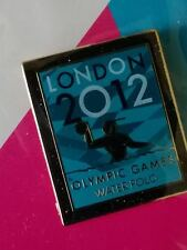 LONDON 2012 OLYMPICS WATER POLO SPORTS SPECIFIC VENUE PIN BADGE