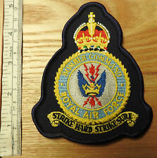 Post 1952 Military Bomber Command RAF Cloth Blazer Breast Badge (3876)
