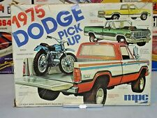 MPC 1975 DODGE PICKUP VINTAGE KIT #1-7509 1/25 AMT CHROME REAR BUMPER #102 ONLY