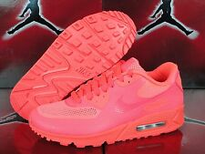 Nike Air Max 90 Hyperfuse Premium iD Solar Red SZ 6.5 822560-997 October