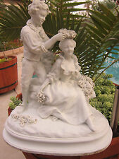 Antique French Sevres St  Bisque/parian Grouping  Figurine Statue