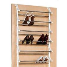 Over Door Shoe Rack 8 Tier Up To 24 Pairs Shoes Hanging Storage Organiser Tidy