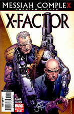 X-Factor #27 VARIANT signed by Jim Cheung NM Messiah Complex CABLE HOPE