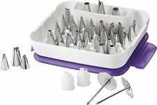 Wilton 2104-0240 Master Decorating Tip Set 55-piece 1 Wilton New