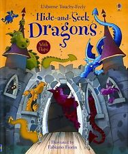 Hide-and-seek Dragons (Usborne Touchy Feely)-ExLibrary