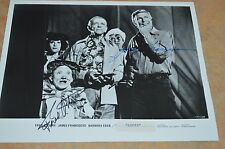 VINTAGE FRED ASTAIRE, JAMES FRANCISCUS & BILLY BARTY SIGNED 8X10 PHOTO!!!