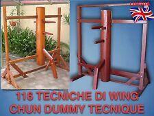 Wing Tsun - Dummy 116 - 1 DVD - Uomo di legno - 116 Tutte le tecniche - Difesa