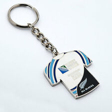 Rugby World Cup 2015 All Blacks 1987 / 2011 Champions Jersey Key Ring