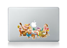 "Snow White's seven dwarf Macbook sticker for 13/15/17"" Pro/Air/Retina laptop"