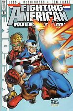 Awesome Comics Fighting American Rules Of The Game #1 November 1997 VF+