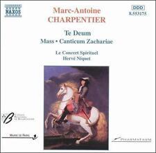 Charpentier: Te Deum; Mass; Canticum Zachariae, New Music