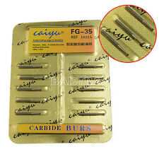 SALE Dental Tungsten Steel Carbide Burs FG-35 For High Speed Handpiece