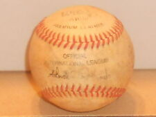 Vintage International League Official wilson Baseball