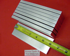 "8 Pieces 1/2""x 2"" ALUMINUM FLAT BAR 6"" long 6061 .500"" Solid Plate Mill Stock"