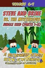 Steve Brine vs Mysterious Jungle Seed (Parts 1-2) Blockhead Comic Book for Miner