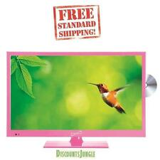"Supersonic SC-1512PK Pink 15.6"" LED Widescreen HDTV Television w/DVD Player VGA"