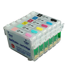Refillable Ink Cartridges Kit for EPSON R290 RX590 RX610 RX615 RX690 R390 81N