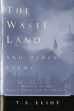 The Waste Land and Other Poems by Eliot, T. S.