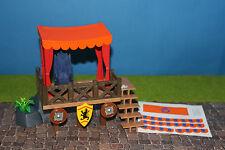 PLAYMOBIL rittertunier tribuna con accessori 3666 3665 3668 Knights