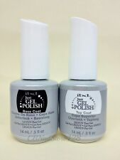 IBD Just Gel Polish - Soak-Off Nail Polish BASE + TOP .5oz Duo