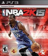 NBA 2K15 GAME Sony PlayStation 3 PS PS3 2015 15