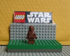 "STAR WARS LEGO  MINIFIGURE--MINIFIG  ""  CHEWBACCA --10188--REDISH BROWN  """