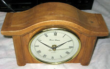 Daniel Dakota Oak Quartz Mantel Clock