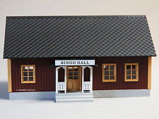 MTH RAILKING ILLUMINATED COUNTRY BINGO HALL O GAUGE trains gambling 30-90466 NEW