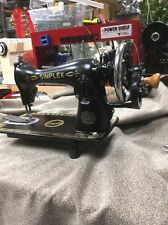Heavy Duty Sewing Machine For Leather, Much More 15- Hand Crank