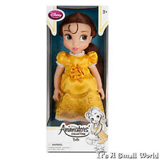 "Disney Store Disney Animators' Collection Belle Toddler Doll 16"" NIB"